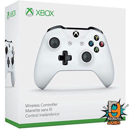 Controle Xbox One  Sem fio Xbox One Newest Branco - Microsoft