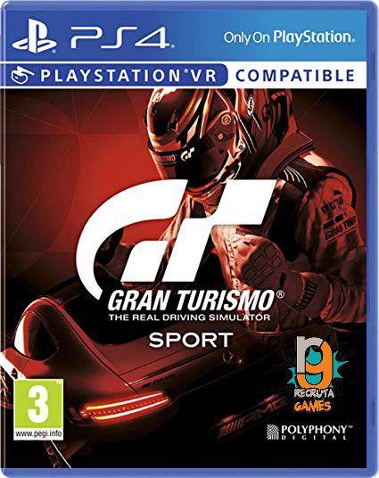 Game Gran Turismo Sport - PS4/VR
