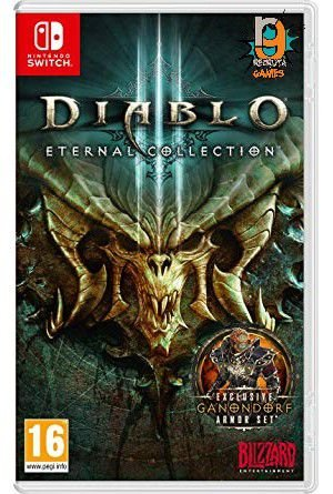 Game Diablo III: Eternal Collection - Switch