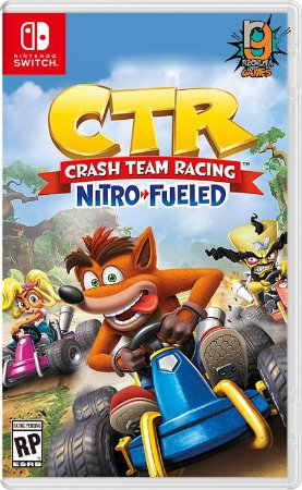 Game CTR Crash Team Racing - Switch