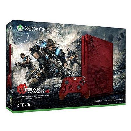 Console Xbox One S Bundle Gears of War (Seminovo) - Microsoft