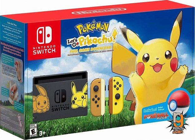 Console Nintendo Switch 32Gb Bundle Pikachu - Nintendo