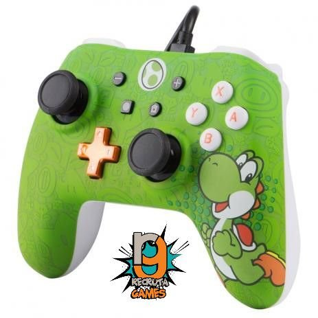 Controle com Fio PowerA Yoshi - Switch