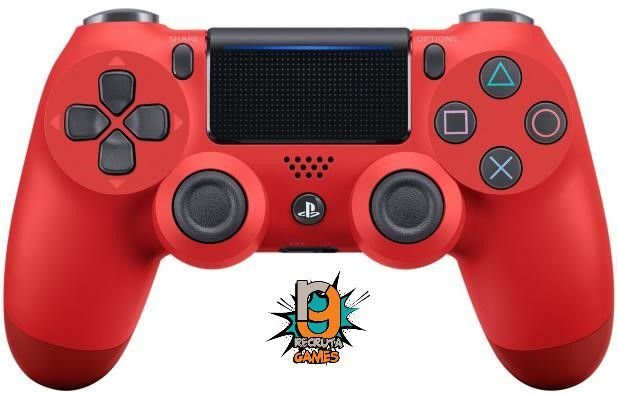 Controle DualShock 4 Sem fio para PS4 Vermelho Magma Red - Sony