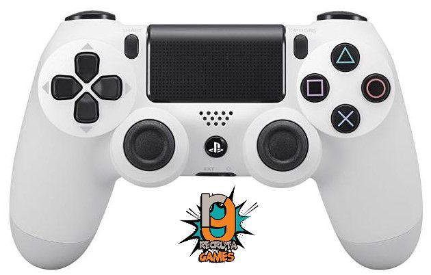 Controle DualShock 4 Sem fio para PS4 Branco Glacier White - Sony