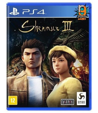 Game Shenmue 3 - Story Goes On - PS4