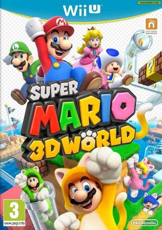 Game  Super Mario 3D Seminovo - Nintendo Wii U