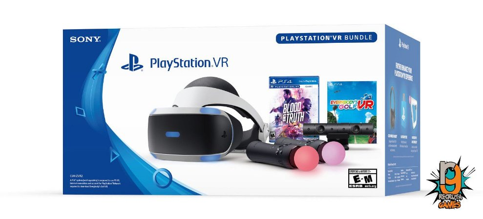 Console Playstation VR Launch Bundle Blood ZREV 02 - Sony