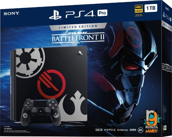 Game PS4 Pro Bundle Star Wars Battlefront 2