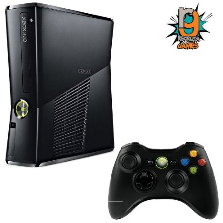 Console Xbox 360 Slim 4gb Destravado - Garantia 3 Meses