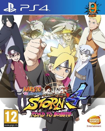 Game Naruto Shippuden Ultimate Ninja Storm 4 Road To Boruto - PS4