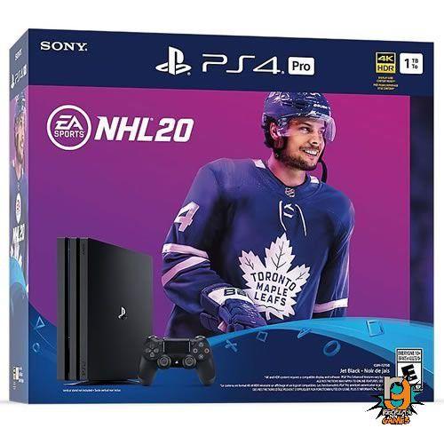 Console PS4 1TB Pro NHL Bundle CUH7215B - Sony