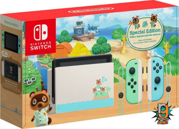 Console Nintendo Switch 32GB Animal Crossing New Horizons Edition - Nintendo