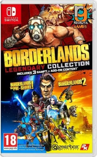 Game Borderlands Legendary Collection - Switch