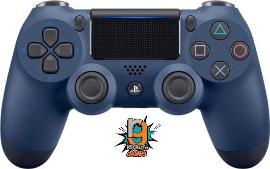 Controle DualShock 4 Sem fio para PS4 Midnight Blue - Sony