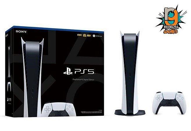 Console Playstation 5 Sony Playstation 5 845GB SSD Digital Edition - Garantia de 03 Anos - Sony