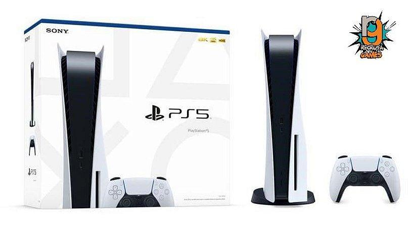 Console Playstation 5 845GB SSD - Garantia de 03 Anos - Sony