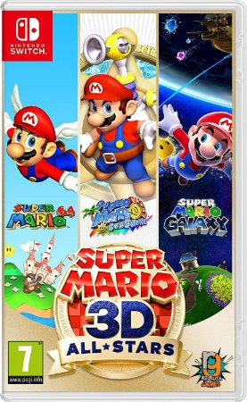 Game Super Mario 3D All Stars - Switch