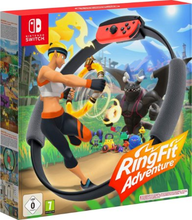 Game Ring Fit Adventure - Switch