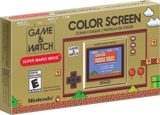 Game & Watch Super Mario Bros - Nintendo