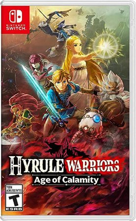 Game Hyrule Warriors Age of Calamity - Switch