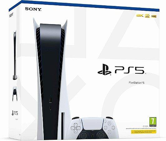 Console Playstation 5 Hd 825SSD - Cuh 1014A/1015A - Sony