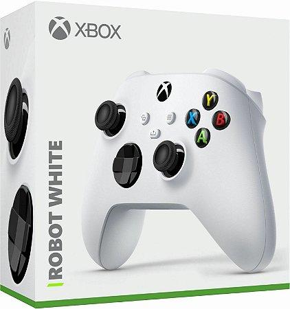 Controle Sem fio Xbox Series - Robot White - Microsoft