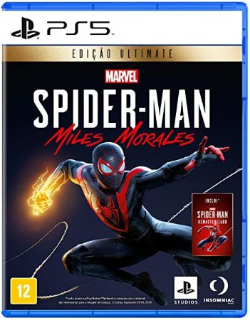 Game Marvel's Spider Man Miles Morales Deluxe Edition - PS5