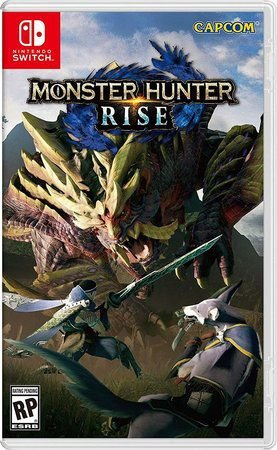 Game Monster Hunter Rise - Switch