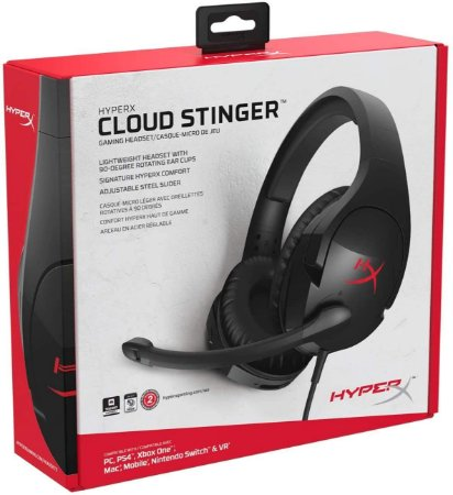 HyperX Gaming Headset Cloud Stinger Wired