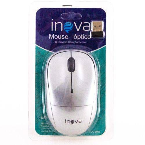 Mouse Óptico Sem Fio Inova 6925