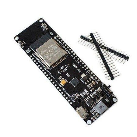 Módulo WiFi ESP32 com Suporte de Bateria