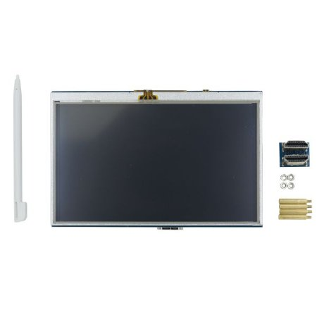 Display LCD Raspberry Pi Touchscreen 5″