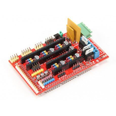 Ramps 1.4 RepRap Shield Arduino Mega para Impressora 3D