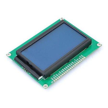 Display LCD Gráfico 128×64 Backlight Azul