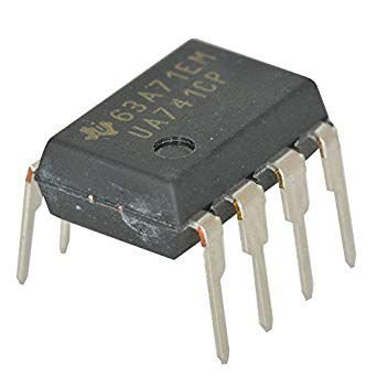 Circuito Integrado UA741CP DIP-08