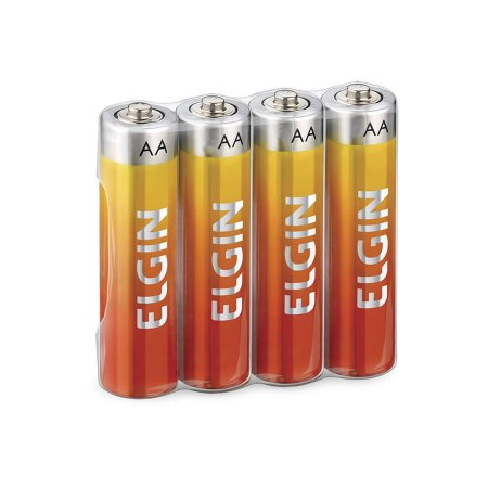Pilha AA Comum Zinco Energy Elgin x 4 Unidades