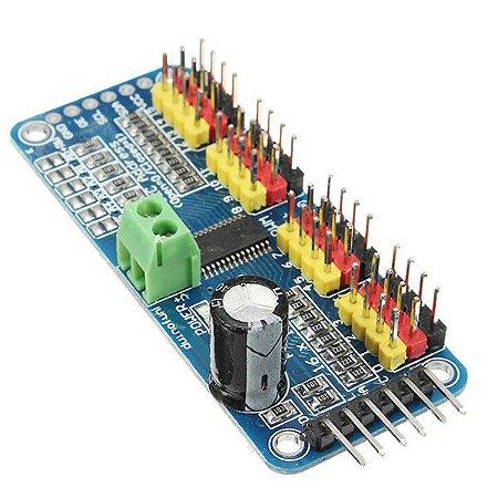 Módulo I2C PWM Servo 16 Canais PCA9685