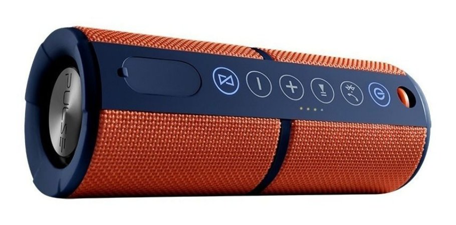 Caixa de Som Waterproof Laranja 15W SP246 Pulse