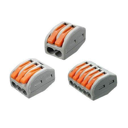 Conector Emenda Rápida Tipo Wago