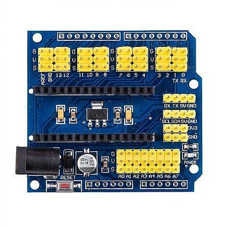 Modulo Shield Adaptador Base Para Expansão Arduino Nano V3.0