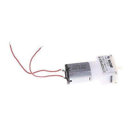 Mini Bomba de Vácuo 3VDC 30KPA 0.28L