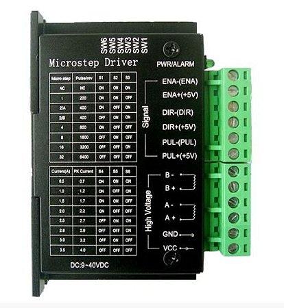 Driver Controlador TB6600 4A CNC/Impressora 3D