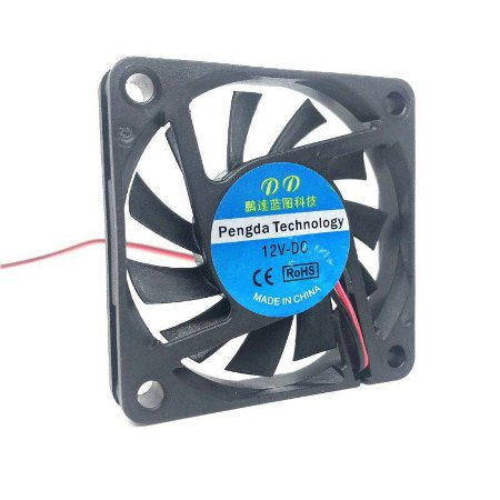 Cooler Ventilador 6010 60x60x10mm 12v