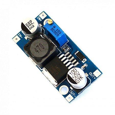 Módulo XL6009 Regulador de Tensão Step Up Ajustável DC-DC