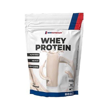 Whey Protein Concentrado - 900g - NewNutrition (BAUNILHA)