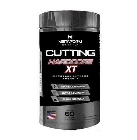 Cutting Hardcore XT - 60 Caps - Metaform Nutrition