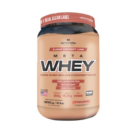 Meta Whey - 900g - Metaform Nutrition