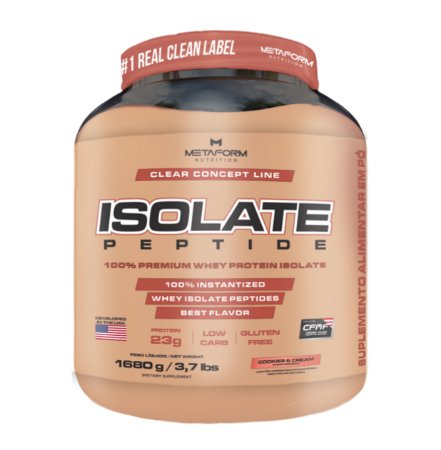 Whey Protein Isolate Peptide - 1,680g - Metaform Nutrition