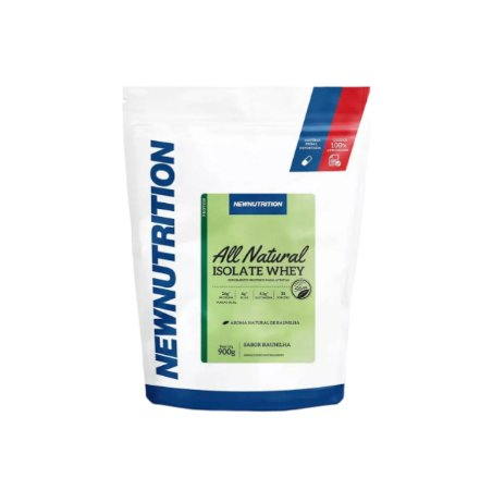 Whey Protein Isolado - 900g - NewNutrition (All Natural)
